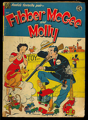 Fibber McGee and Molly A-1 #25 (#1) Scarce One-Shot ME Comic 1949 GD-VG
