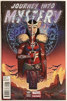 Journey Into Mystery #649 Molina 1:50 Variant, NM+, Only 400 made, Rare, HTF