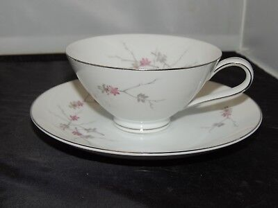 Narumi Arlene 5201 Fine China Teacup and Saucer, Made in Japan