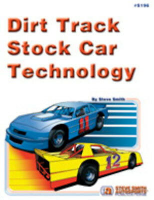 STEVE SMITH AUTOSPORT Dirt Track Stock Car Technology Book P/N S196
