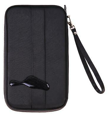 Passport Holder and Travel Document Organizer with Removable Wristlet Strap
