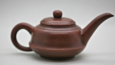 Very Beautiful Ascetic Traditional Chinese Yixing Zisha Teapot Vintage c1960s