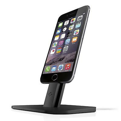 Twelve South HiRise for iPhone/iPad, Black | Adjustable charging stand,...