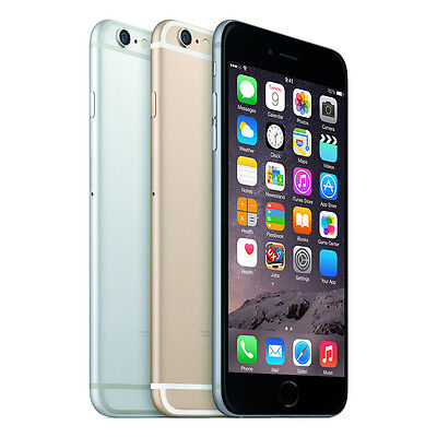 Apple iPhone 6S Unlocked 6 16GB 64GB 128GB Space Grey Rose Gold Silver Warranty