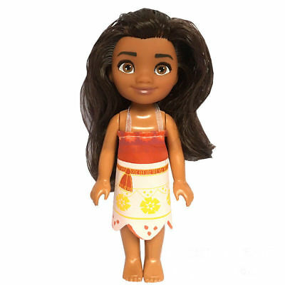 6'' 16cm Baby Kid Child Disney Princess Moana Mini Action Figure Doll Toy Decor