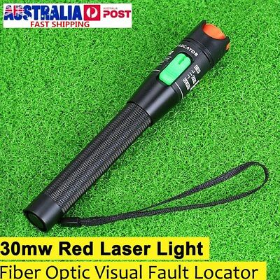 30Mw Visual Fault Locator Finder Fiber Optic Laser Cable Tester Test Equipment !