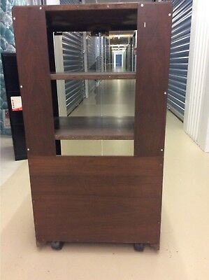 Component Stereo Cabinet w Glass Doors