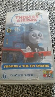 Thomas & Friends - Thomas & The Jet Engine -  Abc Vhs Video