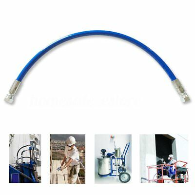 45cm 1/4'' Airless Paint Spray Sprayer Whip Tube Hose w/ Adapter For Titan Graco