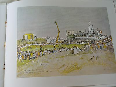 100th OPEN GOLF CHAMPIONSHP..1971..Royal Birkdale...set of 6 x ORIGINAL PRINTS
