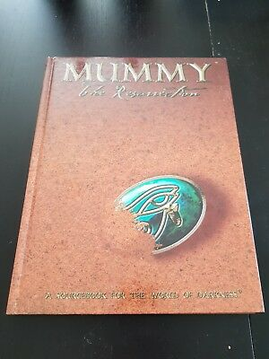 Mummy - The Resurrection (Rare White Wolf RPG)