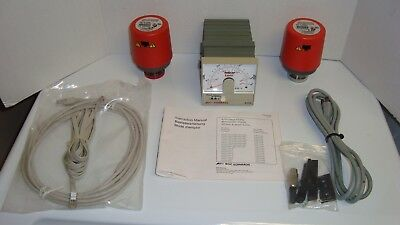 Edwards BOC AGD Vacuum Gauge Display with 2 Edwards AIM-S-NW25 Active Gauges