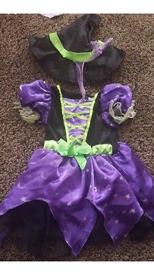 12-18 months girls witch halloween costume