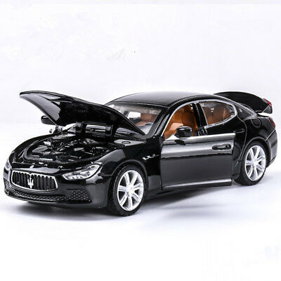 New Maserati Ghibli 1:32 Model Cars Sound & Light Toys Car Alloy Diecast Gifts