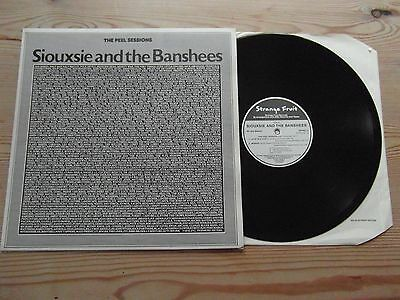 SIOUXSIE AND THE BANSHEES-THE JOHN PEEL SESSIONS-SUPERB AUDIO-12ins EP-EX+ 1977