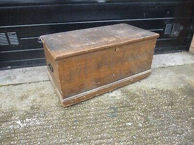 Vintage Pine CHEST, Coffee TABLE, Storage TRUNK Toy Box