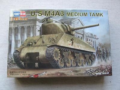 Hobby Boss 84803 U.S. M4A3 Medium Tank 1:48 Neu & eingetütet in OVP
