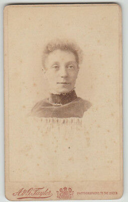 Victorian portrait photo - Newport - A and G Taylor - By Royal Warrant