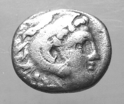ALEXANDER III, THE GREAT. AR DRACHM. COLOPHON. Ref. 1075.