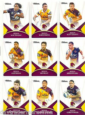 **Weekend Special**2016 NRL ESP Traders Team set-Broncos