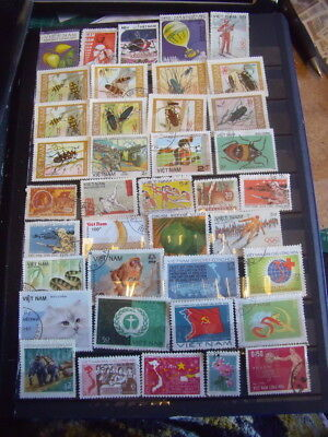 Vietnam Stamps Lot 9 X 150 Used / Some Cancelled With Gum Hinged/mh Stamps - All