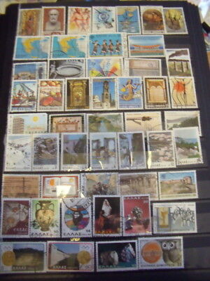 Greece Stamps Lot 6 X 146 Used Stamps - All Scanned Below The Written Descriptio