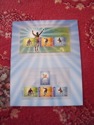 Australia Stamp Presentation Pack Lot 16 Xviii Commonwealth Games  Mint And Comp