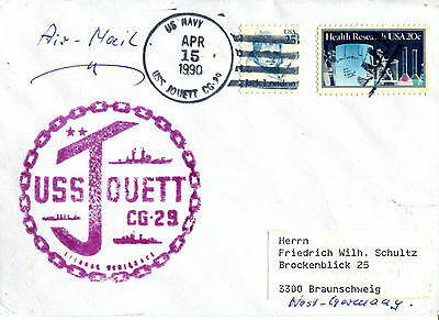 Uss Jouett Cg 29 Cruiser Naval Cached Cover