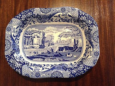 Spode blue and white serving dish - Italian Spode design. Excellent condition