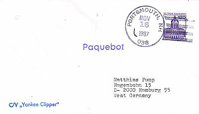 Us Sailing Cruise Ship Yankee Clipper A Ships Cached Cover