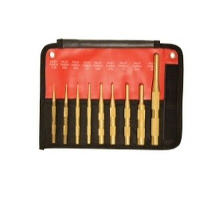 Mayhew Tools 61367 9 Teile Messing Pilot Punch