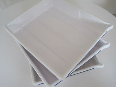"Darkroom equipment 6 Photographic developing trays 3x 14.5 x 12.5"" 3x 9 x11"" B92"