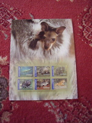 Australia Stamp Presentation Pack Lot 17 Native Wildlife Mint And Complete - All