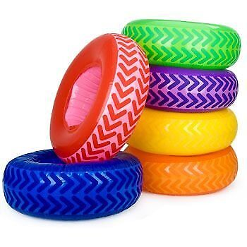 Inflatable Tire Obstacle Course (6-set)