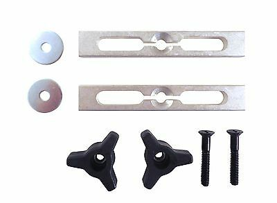 2 Piece Expandable Miter Gauge Slot Jig and Fixture Hold Down Kit LFLK
