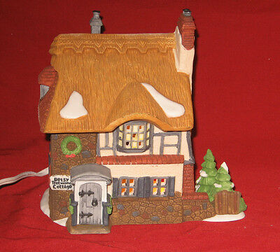 "Department 56 Heritage Village Dickens' Series ""Betsy Trotwood's Cottage"""