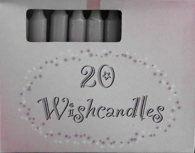 Wish Candles Mauve Spritual Or Material Gains Wicca Pagan Spells Xmas Box 20 X 2