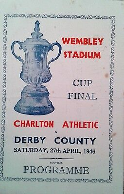 1946 cup final charlton v derby co.