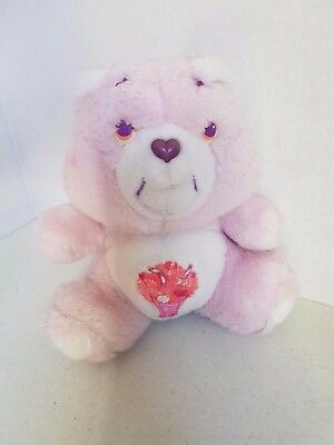Vintage Care Bear 6.5 Inch Carebear Share Bear 1980s Plush Toy