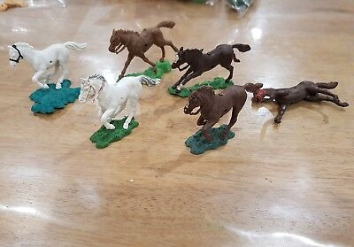 Lot of vintage herald and crescent horses britain ltd
