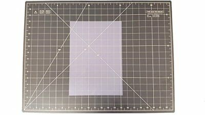 """Quilted Bear Self Healing Quilting Cutting Mat Transparent 17"""" x 23"""" comparable"""