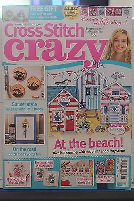 Cross Stitch Crazy Magazine Issue 230 July 2017