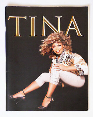 Tina Turner 50th Anniversary Tour Europe 2009 Programme.