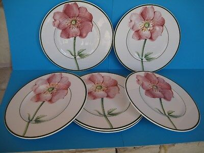 "VILLEROY & BOCH  Assiettes "" Country Collection ""  - FLORA  -"
