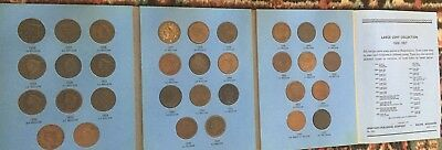 1826 - 1857 Large Cent Us Collection Total 32 Coins