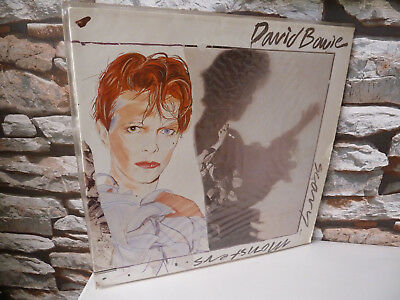 Classic David Bowie : Scary Monsters Vinyl Record Rca Lyric Insert 1980