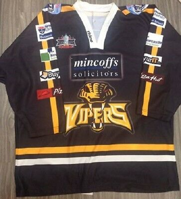 Newcastle Vipers EIHL 2008/09 Play-Off Jersey