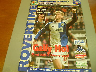 Blackburn v Bolton 03/04