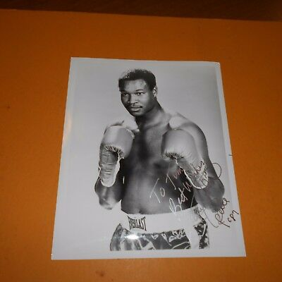 """Larry Holmes professional boxer """"Easton Assassin"""" Hand Signed Photo champion"""