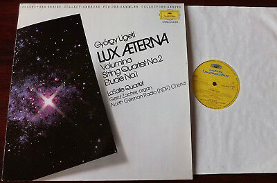 Dg 2543 818 Ligeti String Quartet 2 Lux Aeterna Volumina Lp Nm (1983) Germany